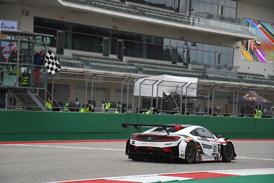 2019 Acura NSX GT3 Evo COTA World Challenge Sunday Racers Edge 9