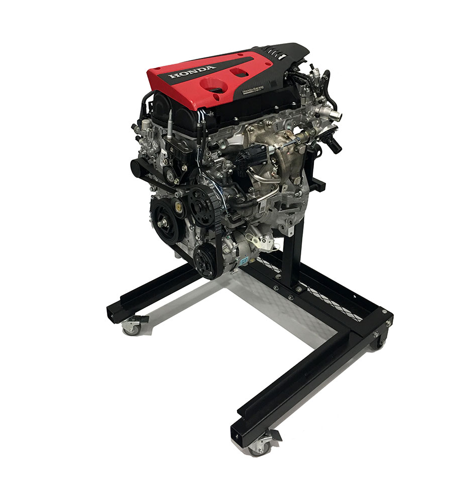 2017 Type-R Crate Engine on Stand