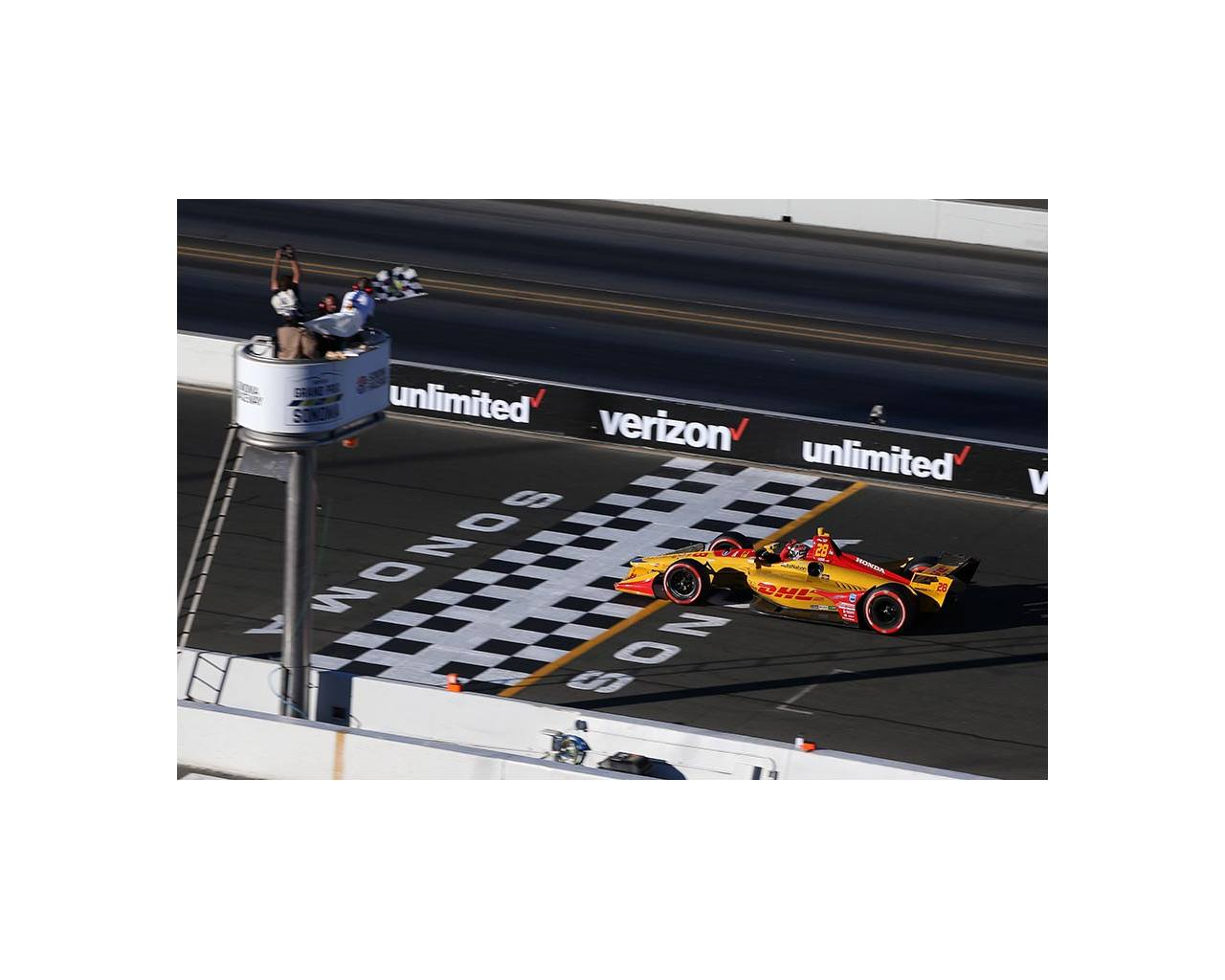 2018 Hunter Reay Sonoma Win