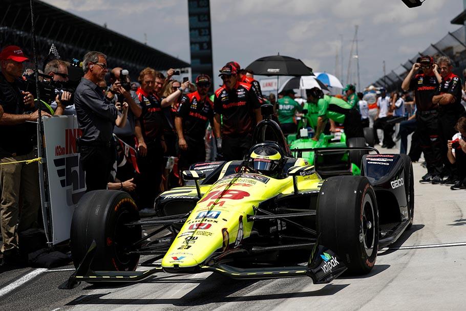 2018 IndyCar Bourdais Dixon Lead Honda Qualifiers for 102nd