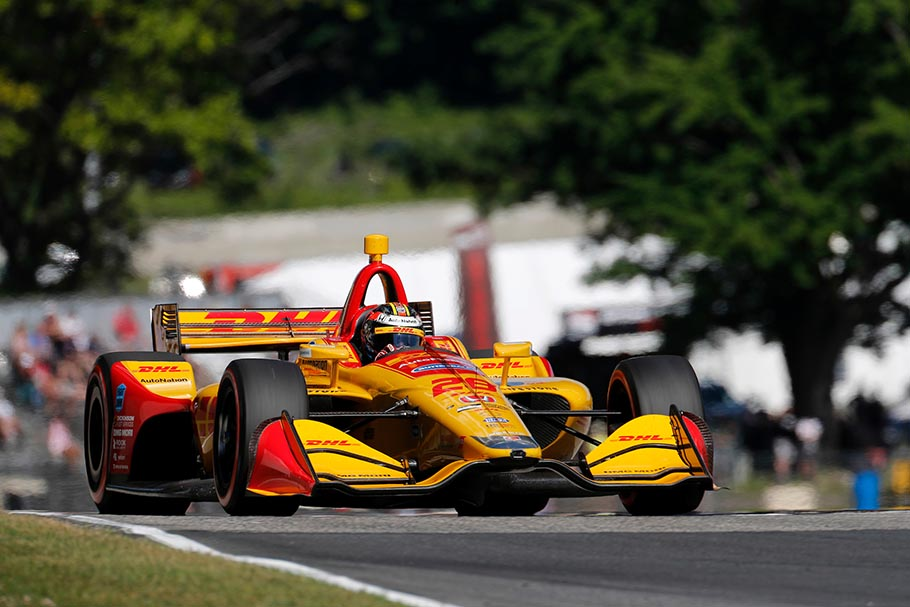 2018 IndyCar Road America Hunter-Reay
