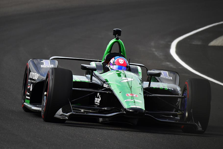 2018 Honda Drivers Top Speed Chart in Fast Friday at Indianapolis