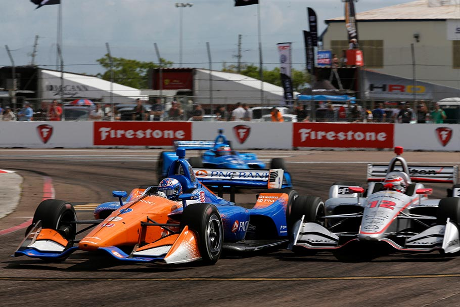 2019 IndyCar St Petersburg Scott Dixon Race