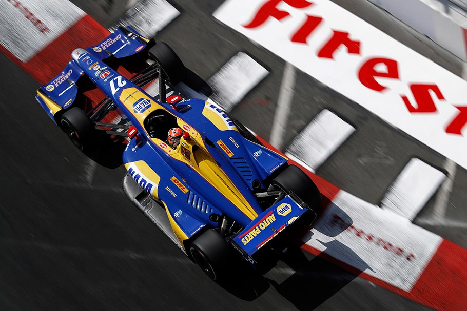 Alexander Rossi Qualifying 2018 Long Beach Grand Prix