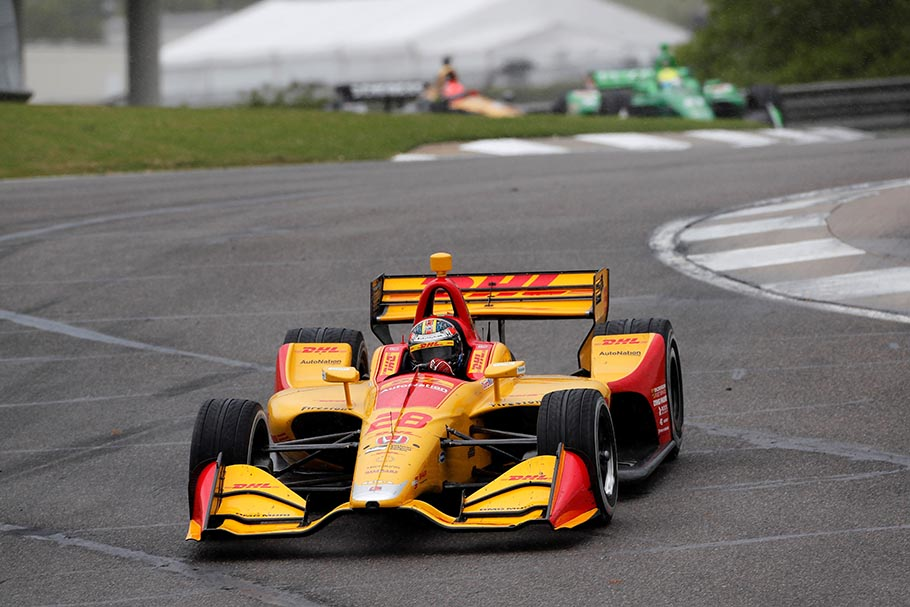Ryan Hunter-Reay 2018 Barber IndyCar Race Monday