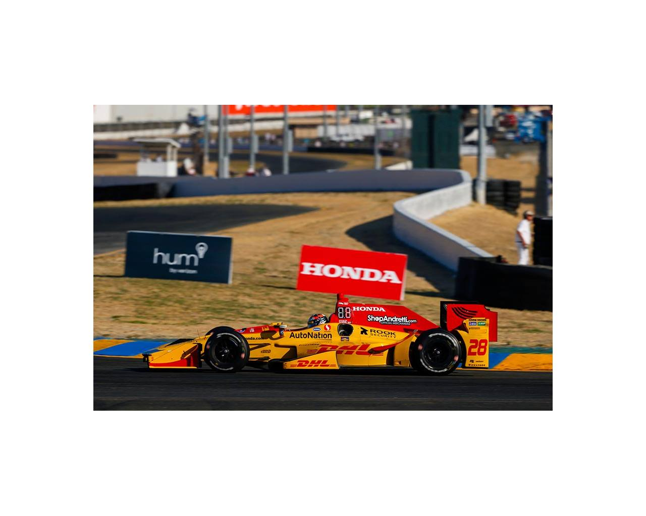 Ryan Hunter-Reay IndyCar Sonoma 2017