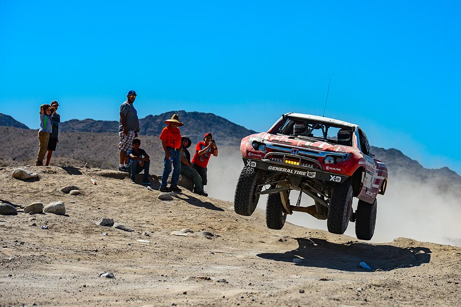 Honda Off-Road Racing Team Ridgeline Baja Racing Truck 2018 Baja 500