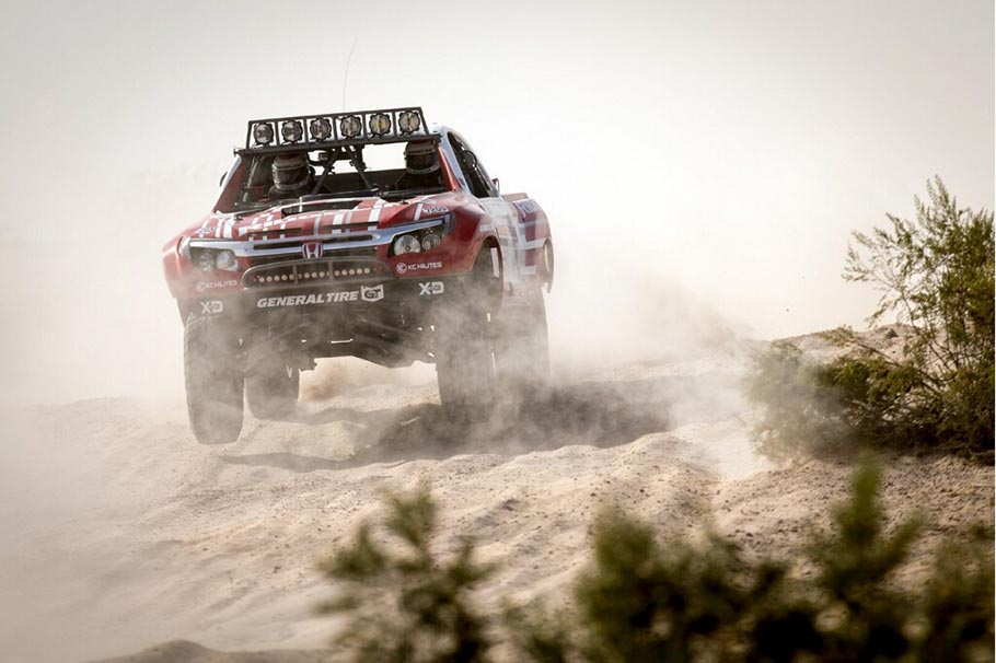 Honda Off-Road Racing Team Ridgeline Baja Racing Truck 2018 Parker 425