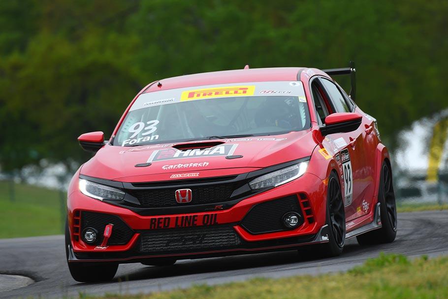 Alabama Honda Associates Civic Type R Racing Program Taking