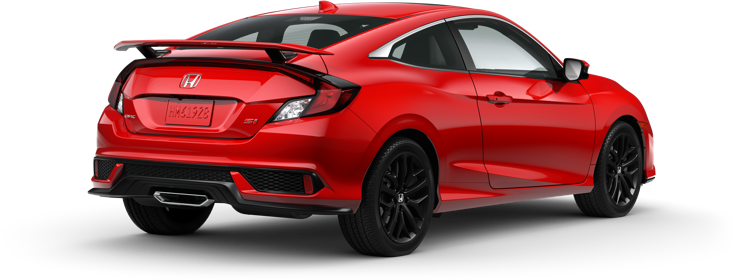 2020 Honda Civic Si Coupe in Rallye Red