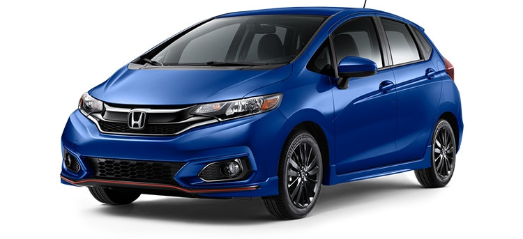 2019 Honda Fit Sport in Aegean Blue Metallic