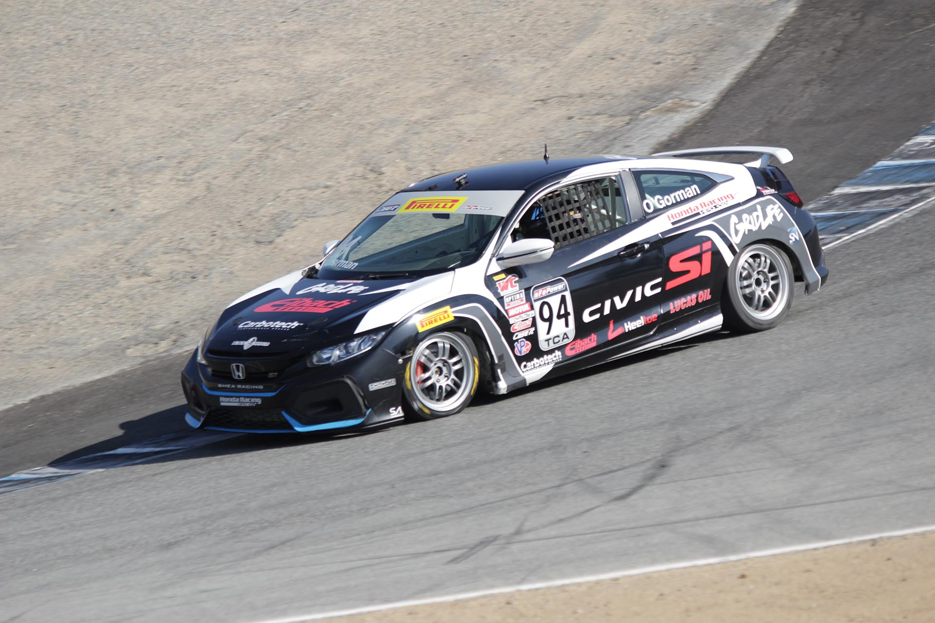Tom O'Gorman PWC TC Laguna Seca 2017